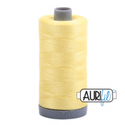Aurifil 28 Cotton Thread - 2115 (Yellow)